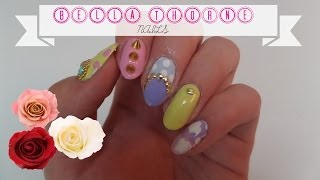 Bella Thorne Inspired Pastel Nails