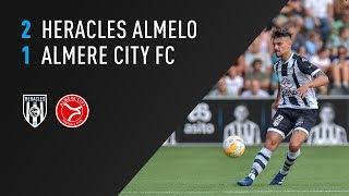 Heracles Almelo - Almere City FC 2-1 | 25-07-2018 | Samenvatting