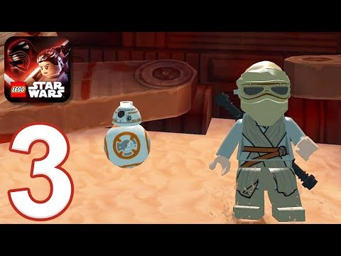 LEGO Star Wars: The Force Awakens - Gameplay Walkthrough Part 3 - Chapter 3 (iOS, Android)