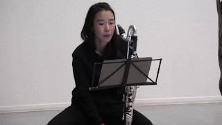 Ji Sun Yang_Hippopotamus für Bassklarinette und Cajon (2017)