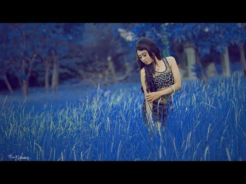 How To Get Blue Color Background With Photoshop | Tutorials Color Grading