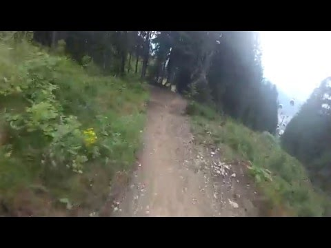 "Schladming ""Bike park Planai"" downhill track - 2015 easy ride"
