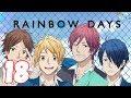 RAINBOW DAYS | 18. Bölüm - Romantizm & Okul Konulu Türkçe Anime izle