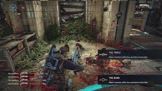 3v5 Ranked KOTH w/ GsQ Zeus! (200 Kills between us both) Gears of War 4 Multiplayer Gameplay 2016