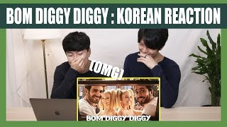 Baixar Bom Diggy Diggy Reaction by Korean Dost | Zack Knight | Jasmin Walia