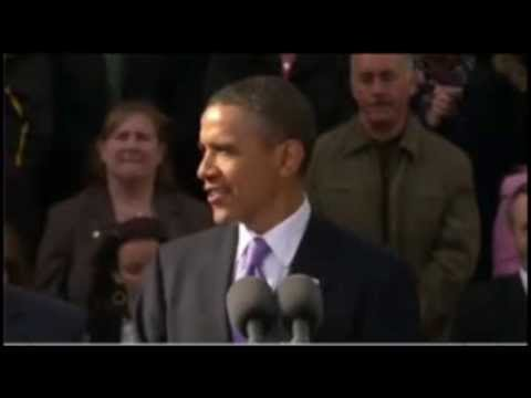 Фрагмент выступления Барака Обамы. Хорошие паузы.