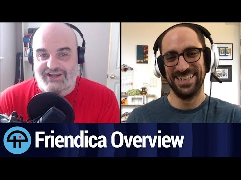 Discussion about Friendica. By Aaron Newcomb
