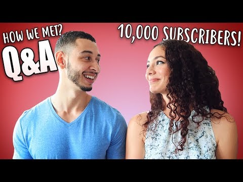 10,000 SUBSCRIBERS!! FIRST Q&A // How We Met STORY TIME | Jay & Rengin