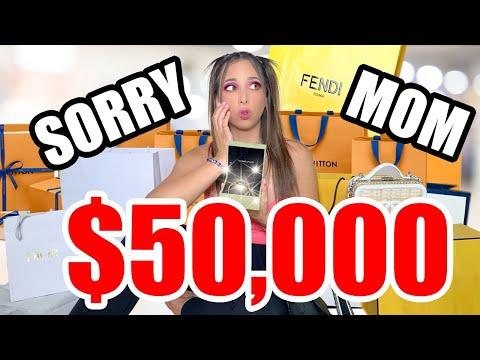 I SPENT $50,000 LUXURY HAUL DESIGNER SHOPPING SPREE (GUCCI, DIOR, FENDI AND MORE)