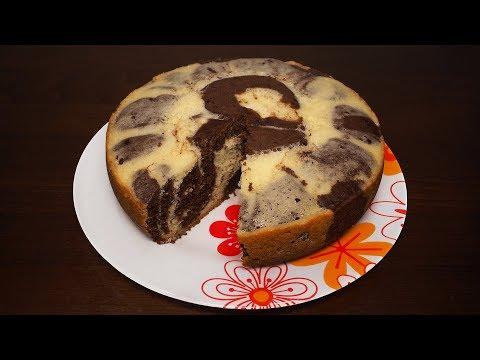 Пирог в мультиварке рецепты мраморный