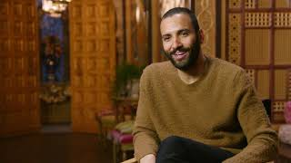 "Aladdin: Marwan Kenzari ""Jafar"" Behind the Scenes Movie Interview"