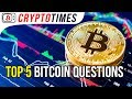 ❓Most popular questions about Bitcoin❓