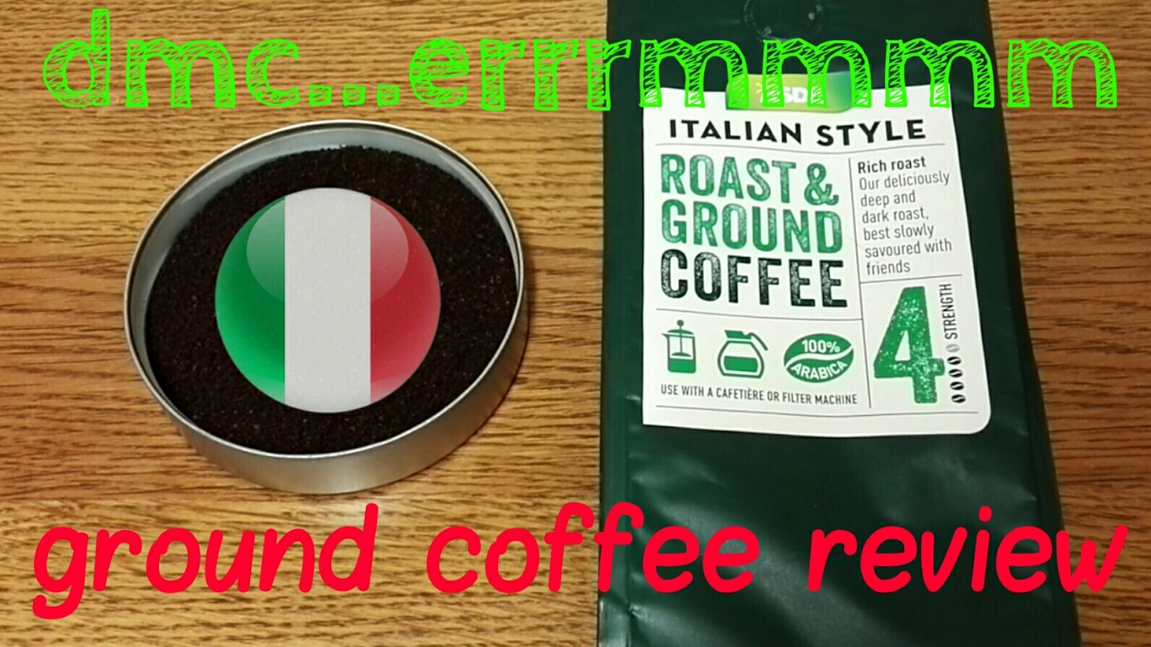 Asda Italian Style Roast Ground Coffee Review