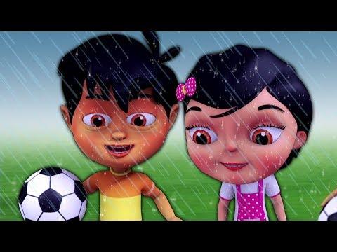 Pani Barsa Cham Cham Rhyme | Nursery Rhyme | पानी बरसा छम छम | Kids Channel India | Hindi Rhyme