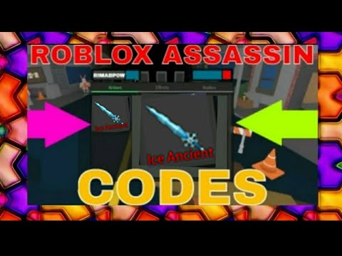 ROBLOX ASSASSIN CODES *NEW* 2018 | CrakenChelsea - YouTube