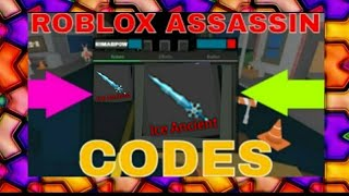 ROBLOX ASSASSIN CODES *NEW* 2018 | CrakenChelsea