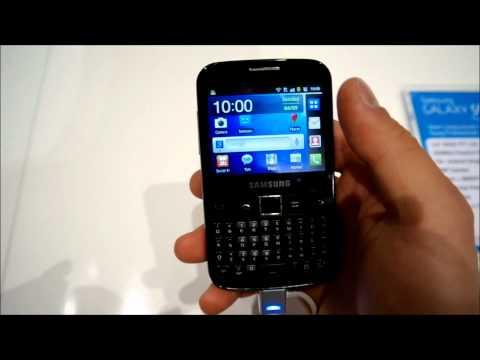 Samsung Galaxy Y pro Hands On deutsch