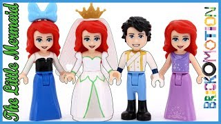 The Little Mermaid Short Story with LEGO Minidolls