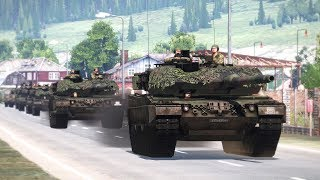 Arma 3: Battle of two powerful European nations - Germany vs. France