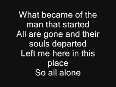 Iron Maiden - Stranger in a Strange Land Lyrics