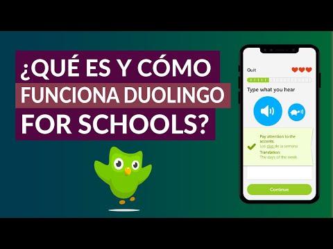¿Qué es y Cómo Funciona Duolingo for Schools? – Conoce Duolingo para Escuelas