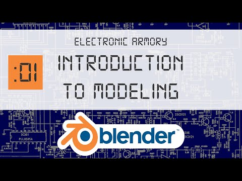 3D Blender Beginner Tutorial - Part 1 - Begin Your Modeling Adventure