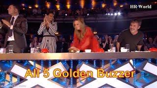 [Eng-Vietsub] Tập hợp đủ 5 NÚT VÀNG THẦN THÁNH của Britain's Got Talent 2018