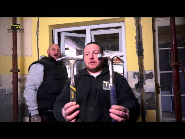 Tommy's Yard How to remove a UPVC window