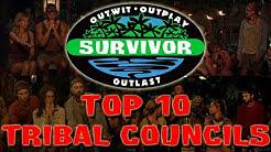 Survivor - Top 10 Tribal Councils