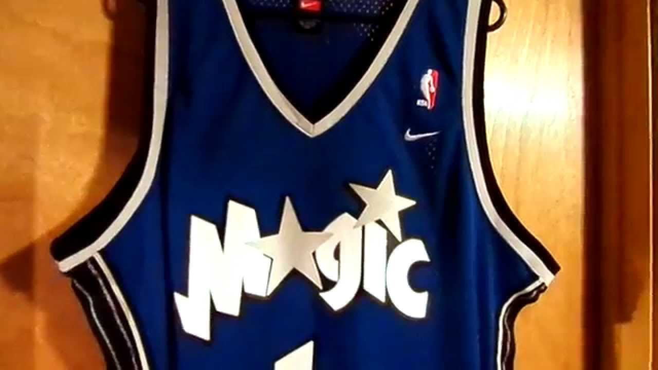 22d078a8 Orlando Magic Tracy McGrady Road Nike Swingman Jersey Review - YouTube