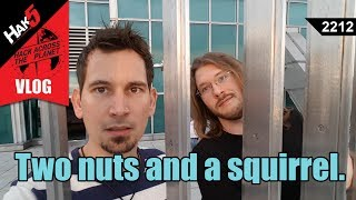 Two nuts and a squirrel - Hack Across the Planet - Hak5 2212
