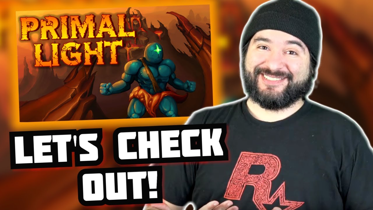 Let's Check Out: Primal Light (Steam) #sponsored
