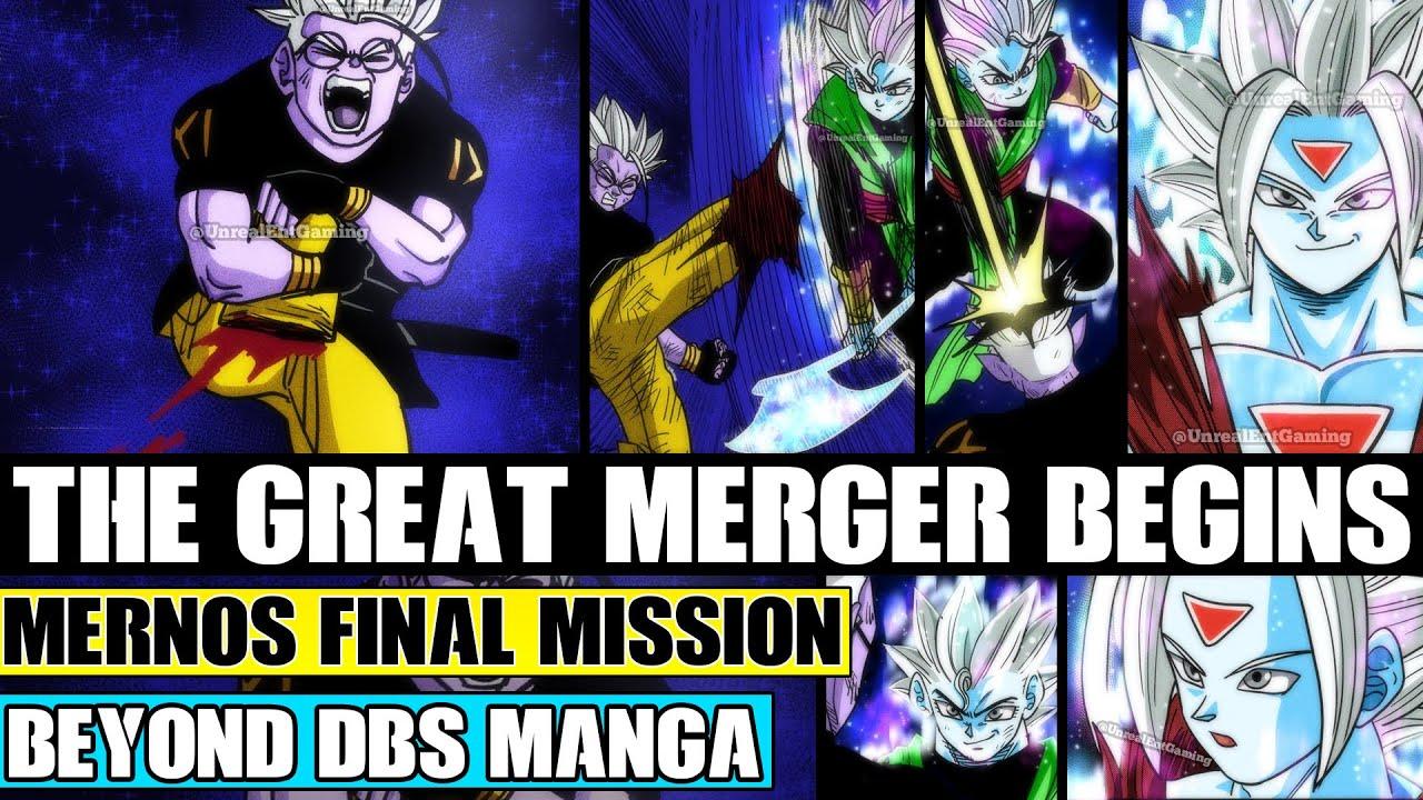 Download Beyond Dragon Ball Super: Clone Mernos Mission Completed! The Original Mernos Great Merger Begins!