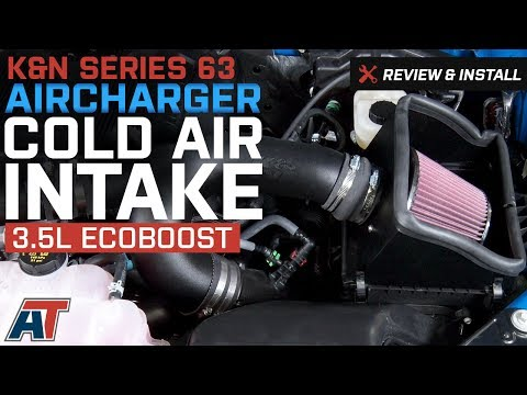 K/&N 63-2593 PERFORMANCE COLD AIR INTAKE FOR 2015-2018 FORD F150 2.7L ECOBOOST V6