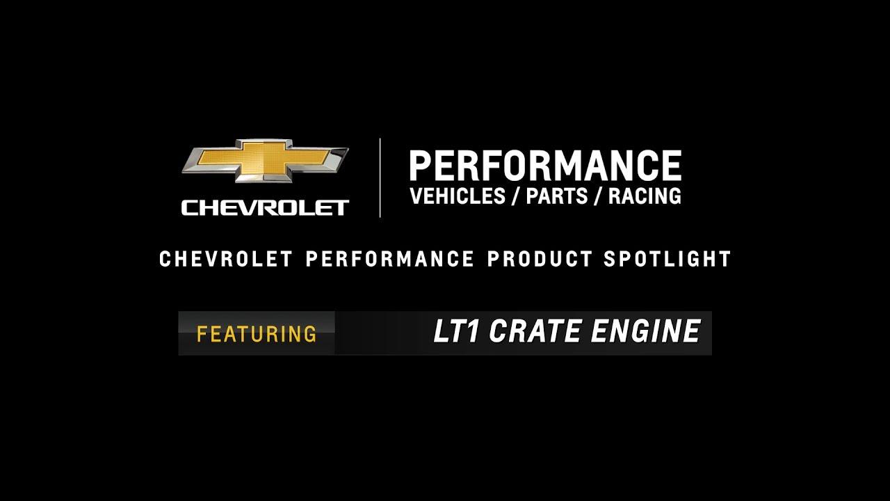 Chevrolet Performance LT1 Crate Engine - Information & Specs