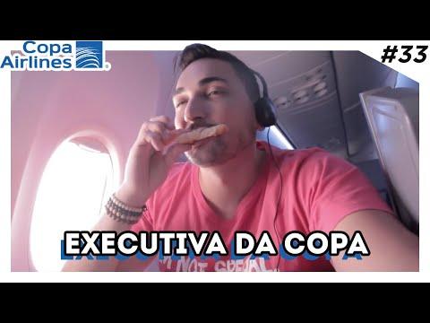 O que fazer dentro do avião? - Business de São Paulo na Panama Copa Airlines - Estevam Pelo Mundo