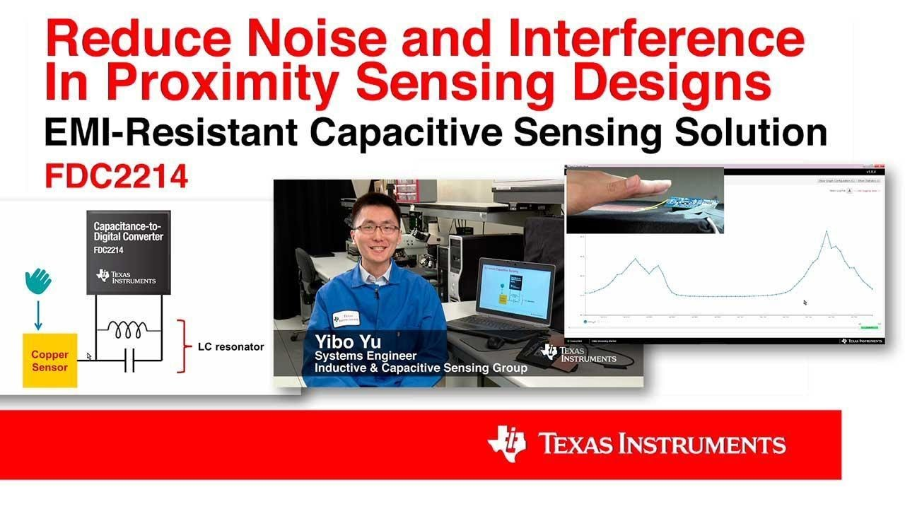 Reduce noise & interference in proximity sensing designs