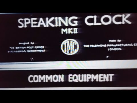 The speaking  Clock pt1