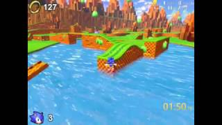Sonic Utopia Demo: Green Hill Zone (2:22.67) Speedrun