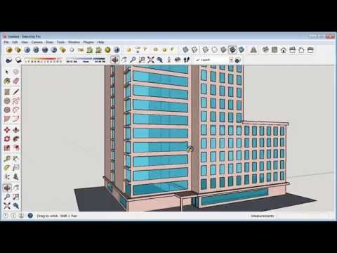 Sketchup Building Design Tutorial