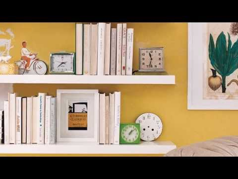 How to Decorate Shelves - Real Simple