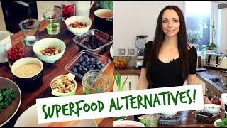 Superfood ALTERNATIVES | UK Dietitian Nichola Whitehead