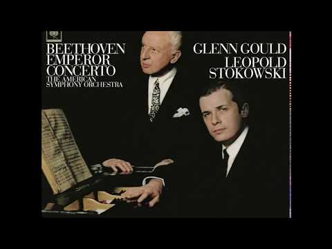 Beethoven Piano Concerto No. 5 – Glenn Gould, American Symphony Orchestra, Stokowski (1966/2015)