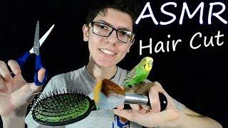 АСМР🎧✁✃Парикмахерская✁✃ Ролевая игра🎇Парикмахер попугай~~ ASMR ✁✃Barbershop✁✃Role Play Hairdresser