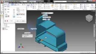 Autodesk Inventor 2014 Tutorial | Import Autocad Files