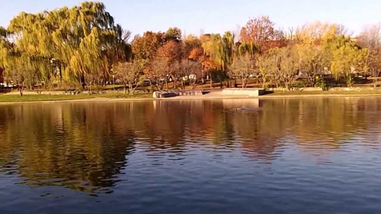 Fall Colors At The Constitution Gardens ( 3 ) - Washington DC. - YouTube