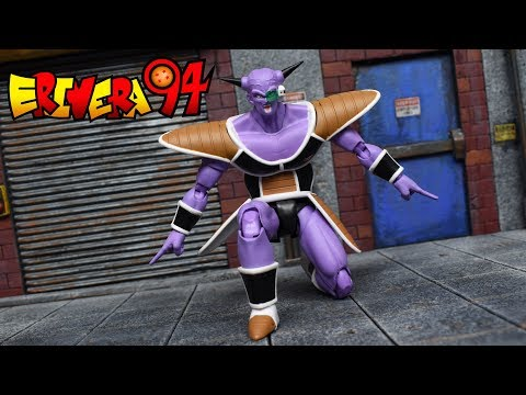 Demoniacal Fit SH Figuarts Dragon Ball Z CAPTAIN GINYU Action Figure Review