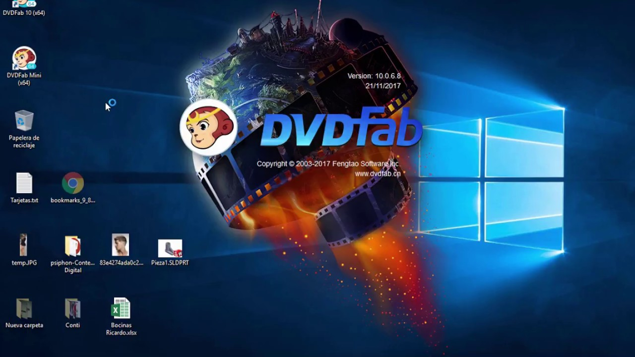 Dvdfab platinum v8. 1. 7. 8 qt final + patch for free ☣ youtube.