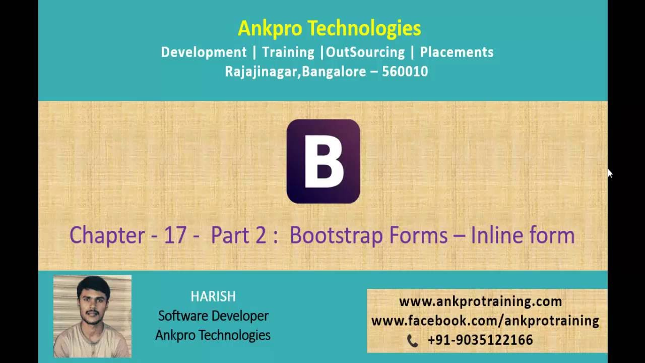 Bootstrap chapter 17 bootstrap forms inline form part 2 youtube bootstrap chapter 17 bootstrap forms inline form part 2 falaconquin