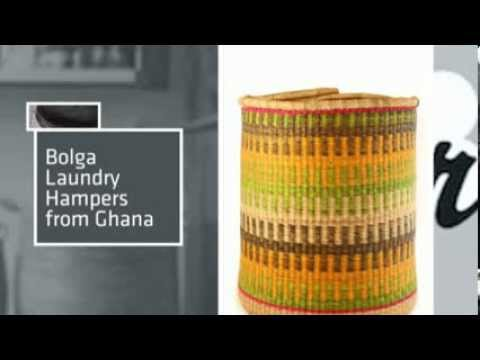 African Laundry Baskets at LaundryShoppe.com